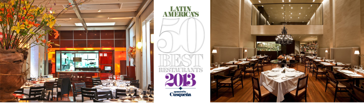 Latin America's 50 Best Restaurants 2013