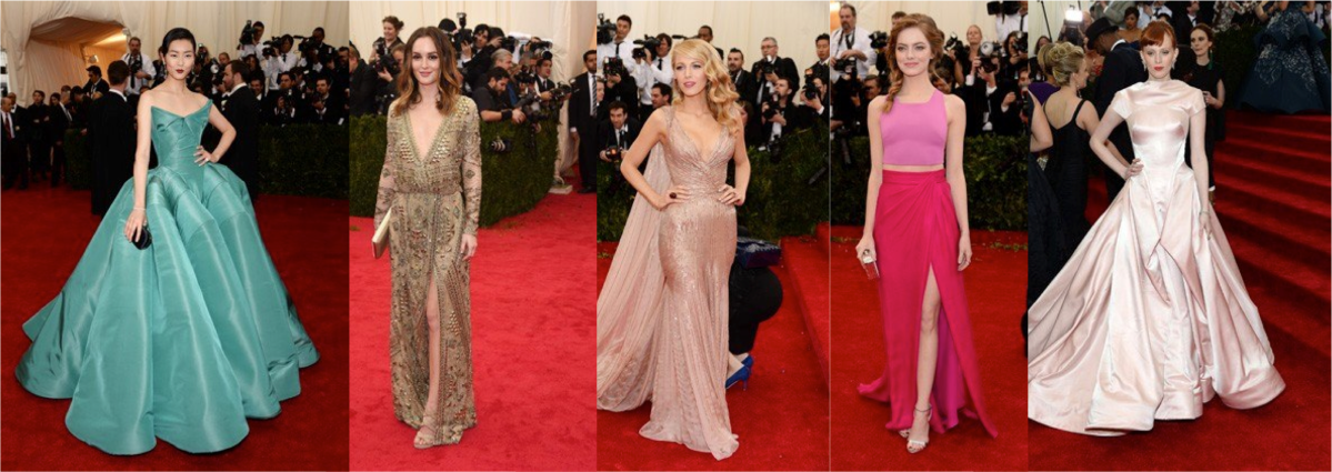 2014 Met Gala - Favorite Dresses