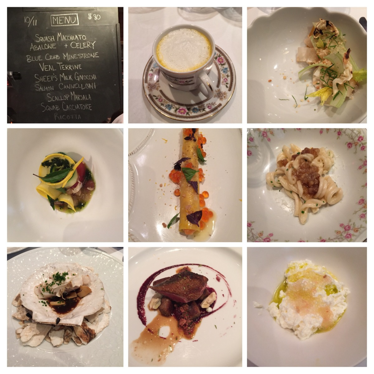 Mind blowing meal at Chef's Table @Brooklyn Fare and other NY food experiences