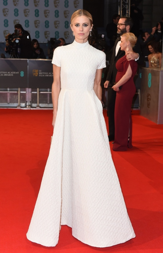 Laura Bailey in Emilia Wickstead