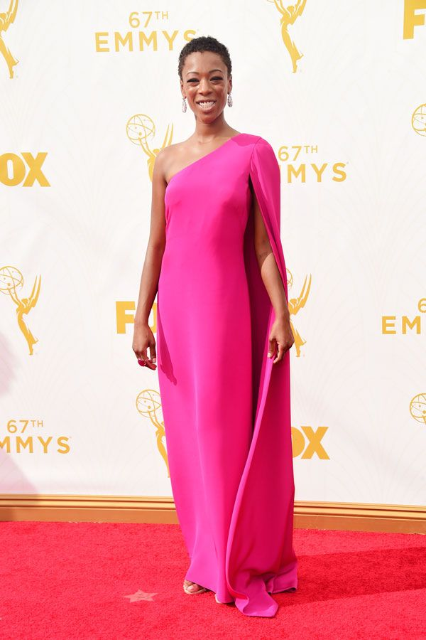 Samira Wiley in Jill Jill Stuart. This is actually a very afordable dress that of course i tried to get after and its completely sold out!