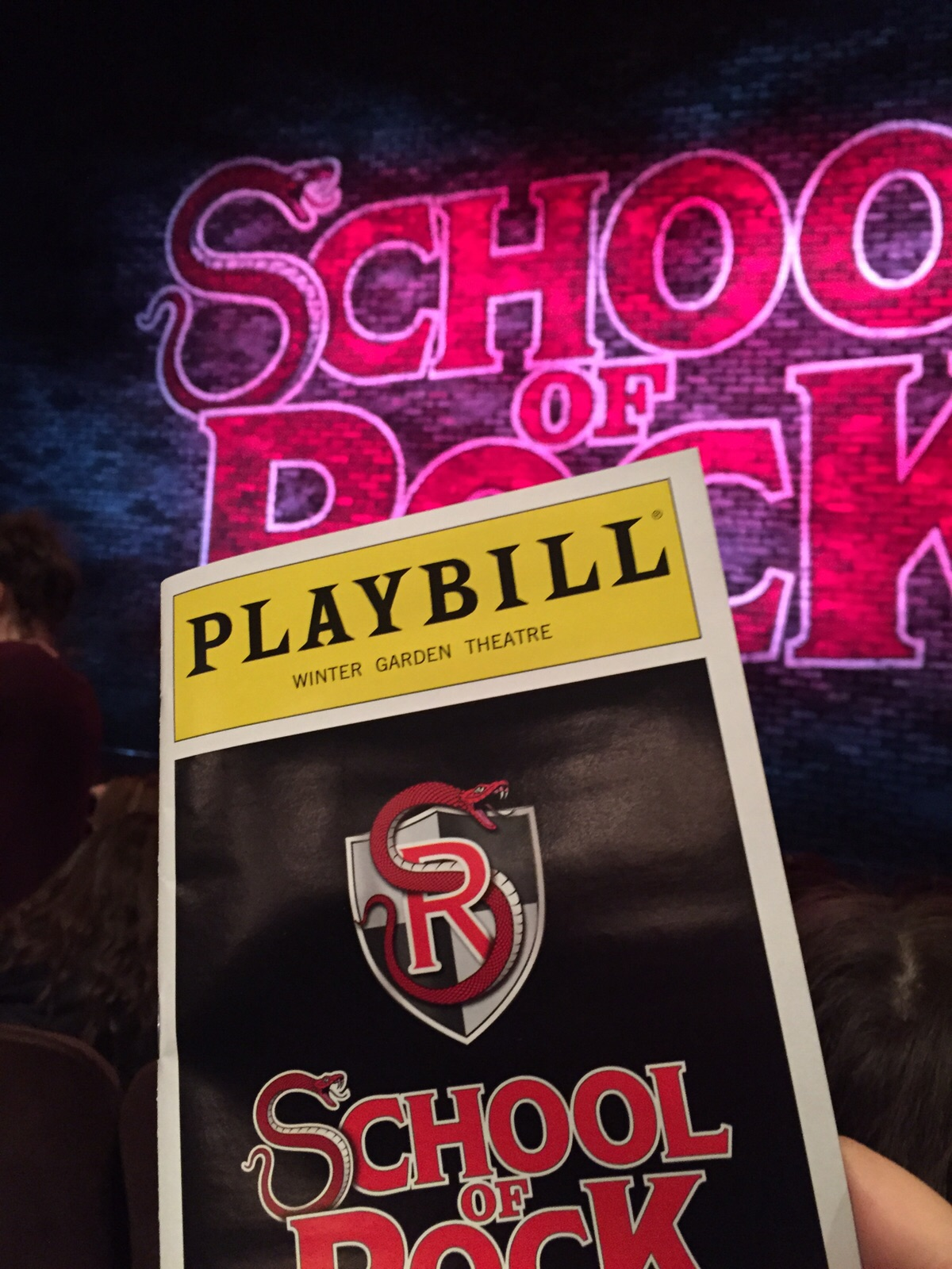 theatre review of rock on broadway and gigantic off