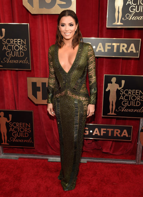 EVA LONGORIA in Julien Macdonald