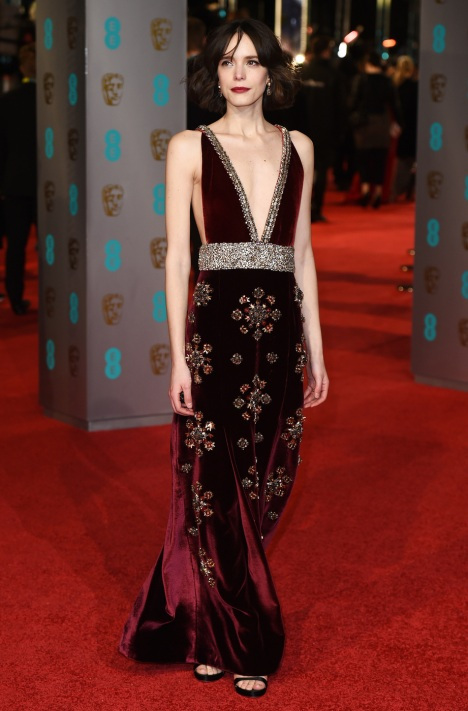 EE BAFTA British Academy Film Awards, Arrivals, Royal Opera House, London, Britain - 14 Feb 2016