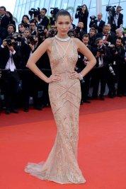 Bella Hadid in Roberto Cavalli and De Grisogono