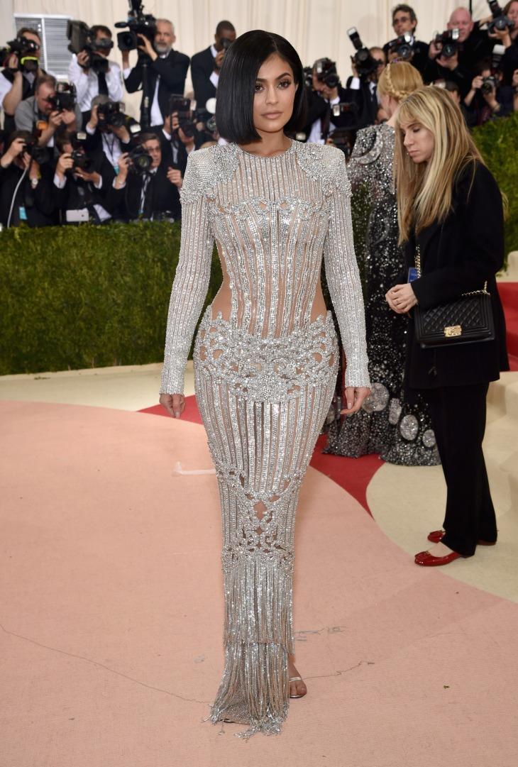 Kylie Jenner versace