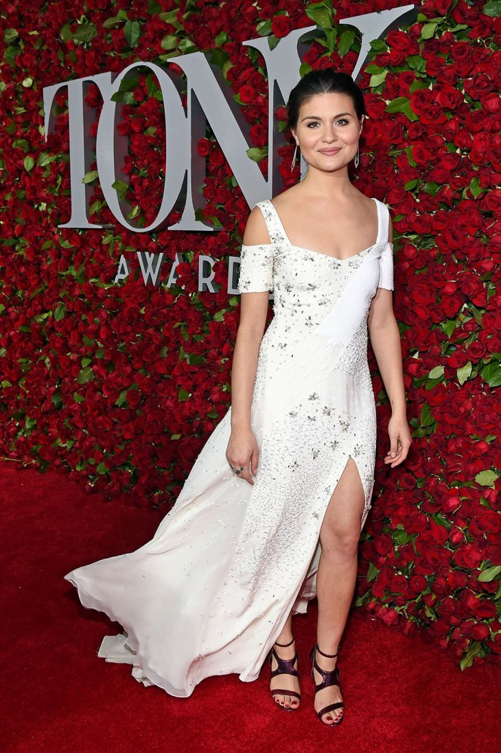 Phillipa Soo in a Prabal Gurung