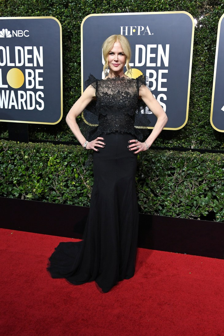 Nicole Kidman in Givenchy couture with Fred Leighton jewelry