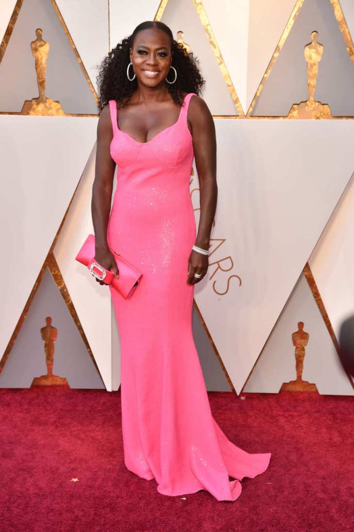 Viola Davis in Michael Kors Collection.