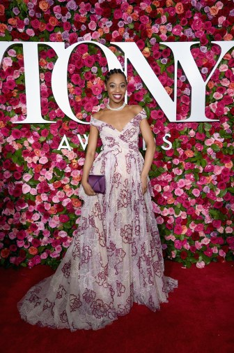 Hailey Kilgore in Zac Posen