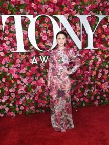 Rachel Brosnahan wearing Dolce & Gabbana