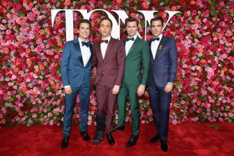 The Boys in the Band stars Matt Bomer, Jim Parsons, Andrew Rannells, and Zachary Quinto