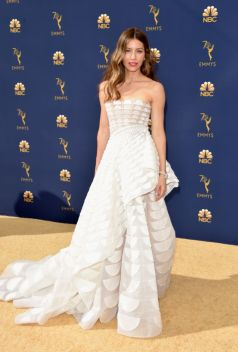 Jessica Biel in Ralph and Russo