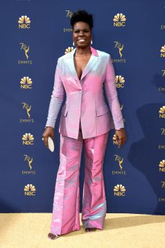 Leslie Jones in Siriano