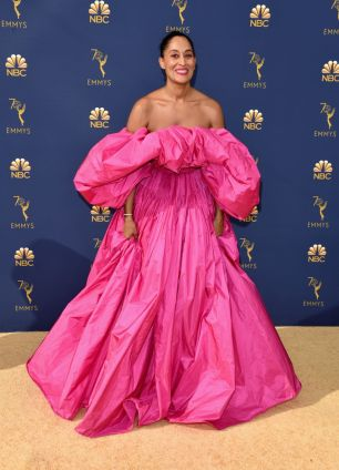 Tracee Ellis Ross in Valentino