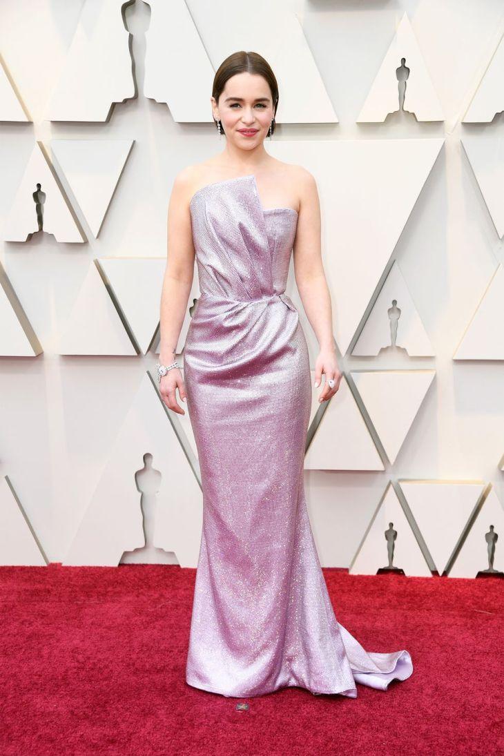 Emilia Clarke in BLamain