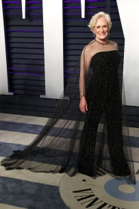 Mandatory Credit: Photo by Matt Baron/REX/Shutterstock (10112926kp) Glenn Close Vanity Fair Oscar Party, Arrivals, Los Angeles, USA - 24 Feb 2019