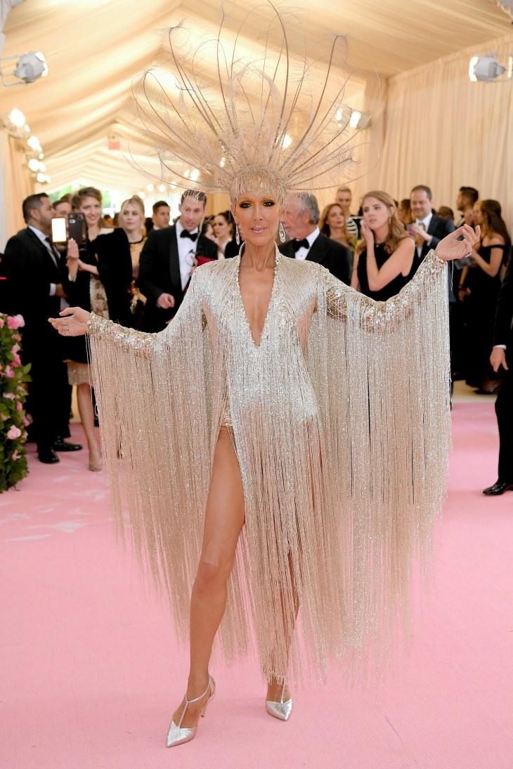 Céline Dion in Oscar de La Renta