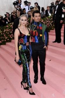 Joe Jonas and Sophie Turner in LV