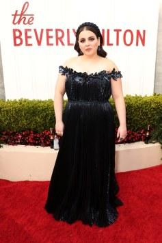 Beanie Feldstein in Oscar de la Renta