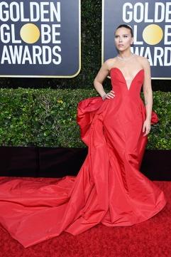 Scarlett Johansson in Vera Wang