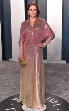 MEGAN MULLALLY in jenny packham
